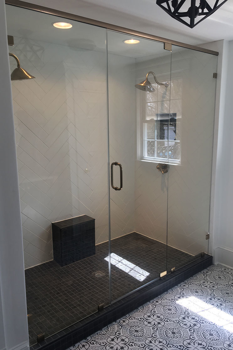 Alamance Glass shower