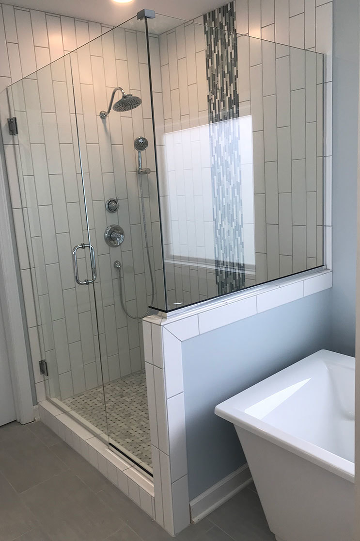 Alamance Glass shower door