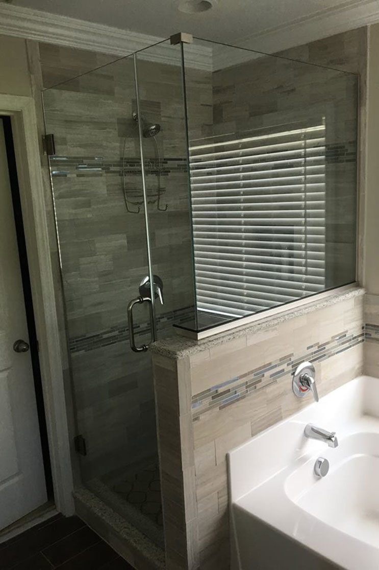 Shower door partner Alamance Glass