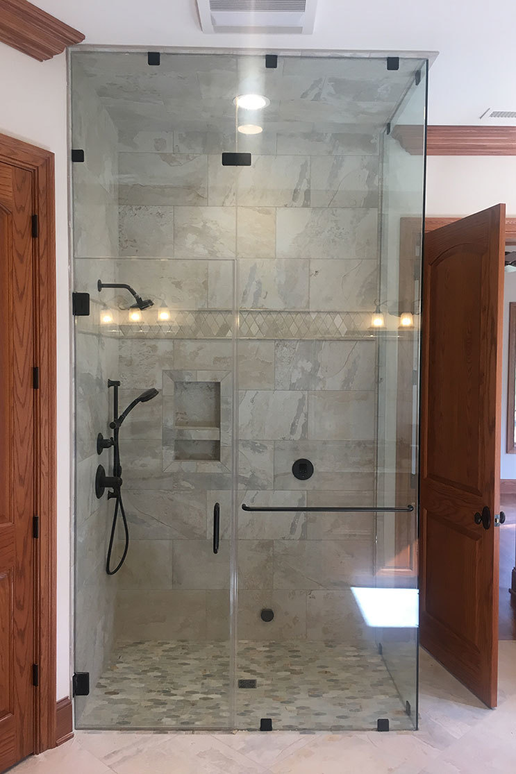 Mobile Glass shower
