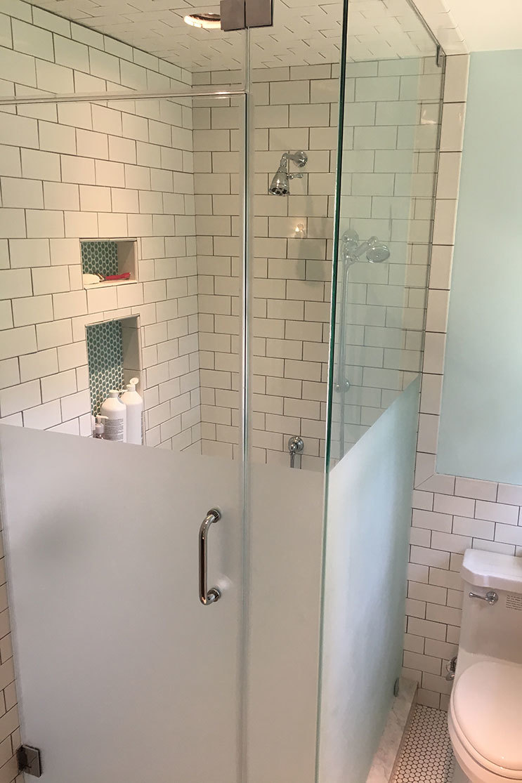 AGM Partner Mobile Glass shower door