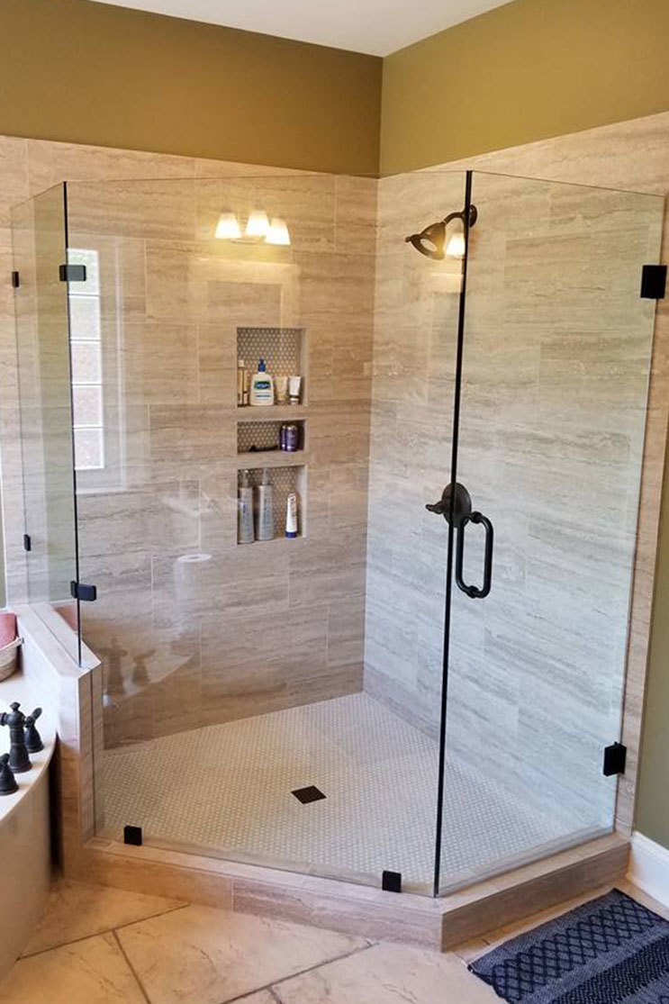 GMC Glass Shower Door