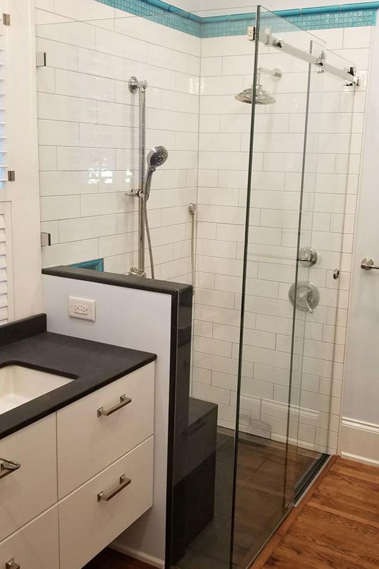 Partner glass shower door installer GMC Glass