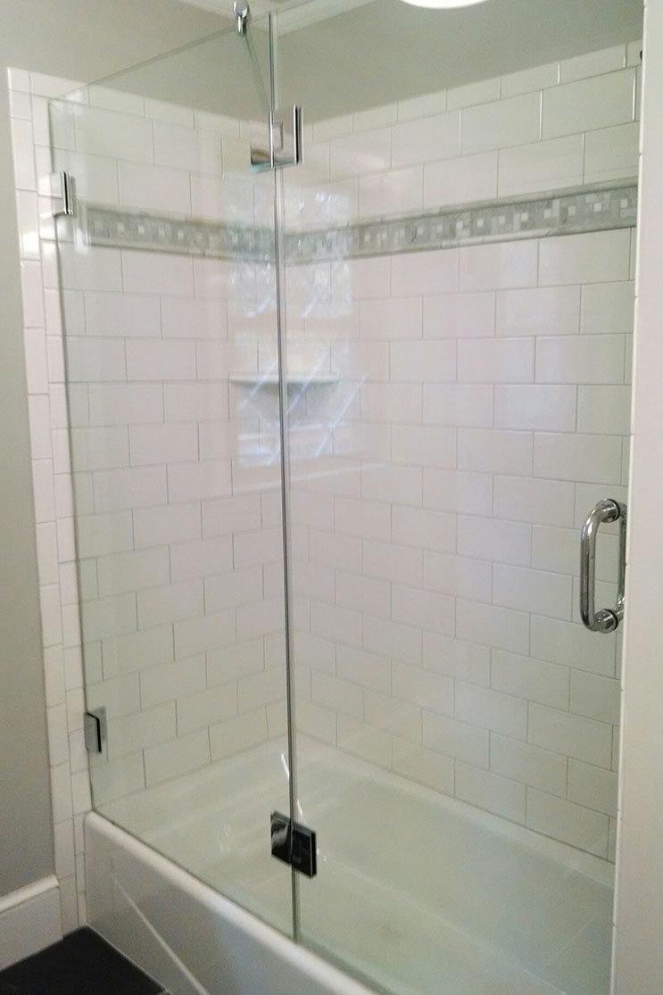 Scott's Home Improvement Installation Shower Door