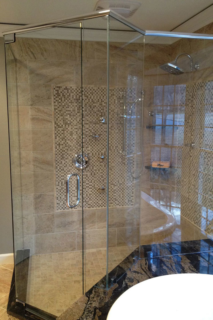 The Glass Shop Shower Door Installation